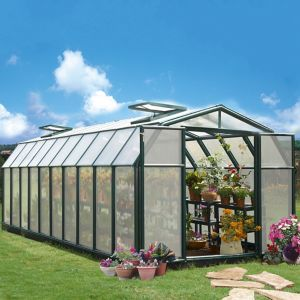 Image of Rion Hobby Gardner 8x20 Acrylic Barn Greenhouse