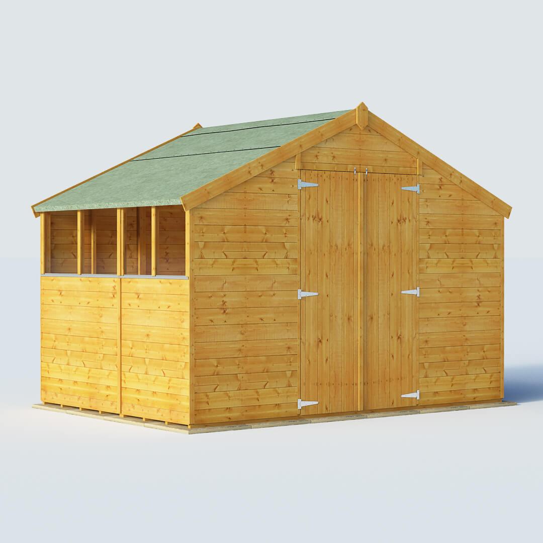 Garden Sheds 6 X 10 garden sheds 7 x 10 apex shed in design